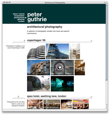 Peter Guthrie Architectural Photography & Visualisation