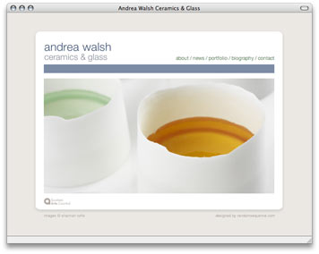 Andrea Walsh - Home Page