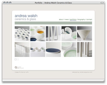 Andrea Walsh - Work