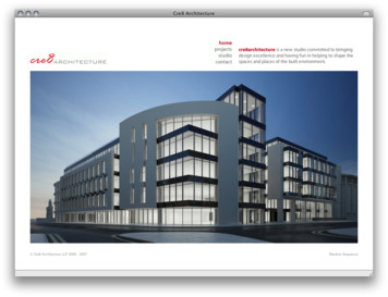 Cre8 Architecture - Home Page